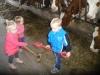 spelen in de stal